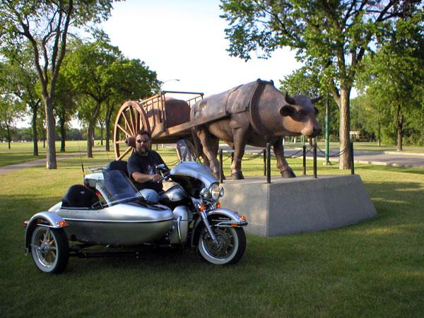 Assiniboine Park Ox Cart